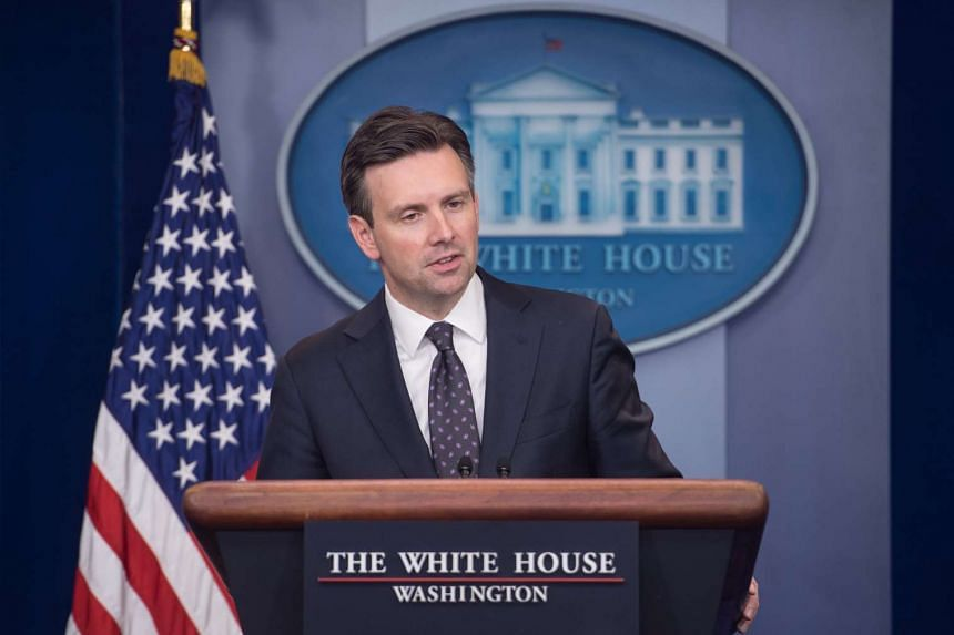 White House spokesman Josh Earnest speaks at the daily press briefing at the White House in Washington, DC, on Oct 31, 2016.