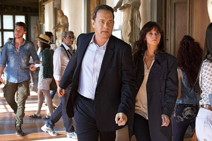 A mystery thriller starring Tom Hanks and Felicity Jones, Inferno is based on a novel of the same name by Dan Brown.