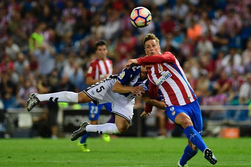 Atletico Madrid will be counting on striker Fernando Torres' Champions League experience when they meet Group D rivals Rostov on Tuesday.