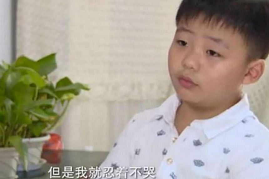 Eight-year-old Cao Yinpeng had to put on 10kg in two months to undergo a bone marrow transplant and save his father.