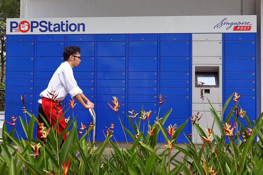 A delivery locker system by Singapore Post to let customers collect parcels round-the-clock. A nation-wide parcel delivery locker system will be rolled out by the end of next year to make online shopping more convenient.