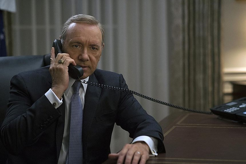 Channel RTL CBS Entertainment, home to shows such as House Of Cards (starring Kevin Spacey, above), has been dropped from Singtel TV.