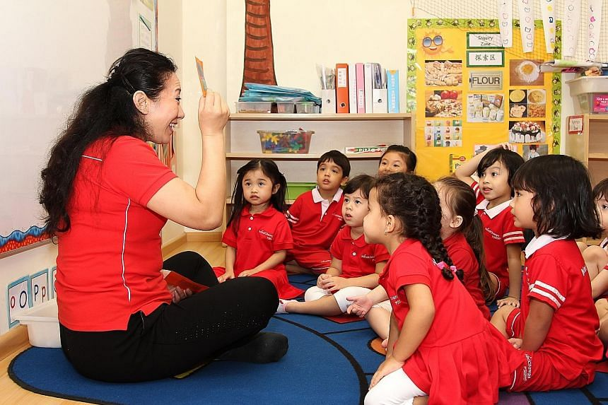 The pre-school operator, which opened here in 2002, has won the Influential Brands Top Brands Award in the pre-school education category for the third year running.
