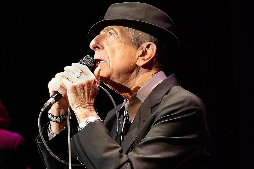 You Want It Darker is the 14th album of Leonard Cohen (above).