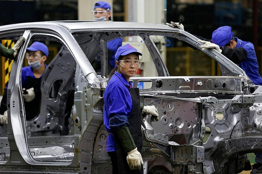 China's official Purchasing Managers' Index stood at 51.2 last month, which was stronger than economists had expected and the highest since July 2014. Despite the apparent surge in domestic demand, manufacturers continued to cut jobs, with the employ
