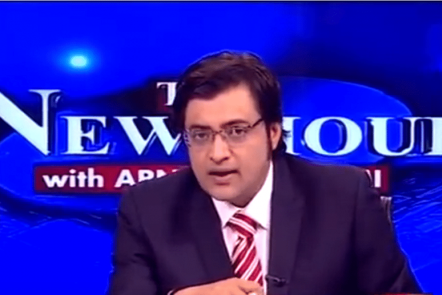 Arnab Goswami, India's top English TV news anchor, has quit his popular prime-time programme.