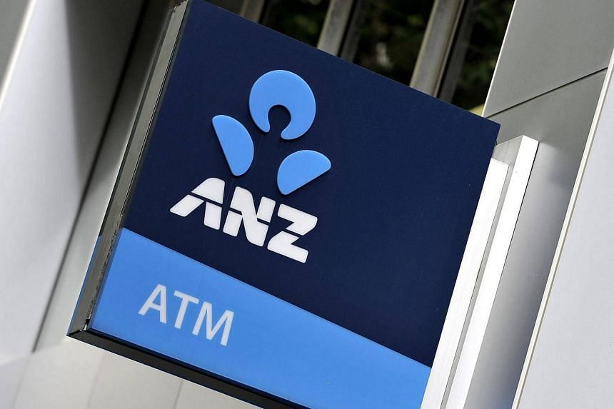 Signage of the Australia and New Zealand Banking Group (ANZ) bank is seen in Sydney.