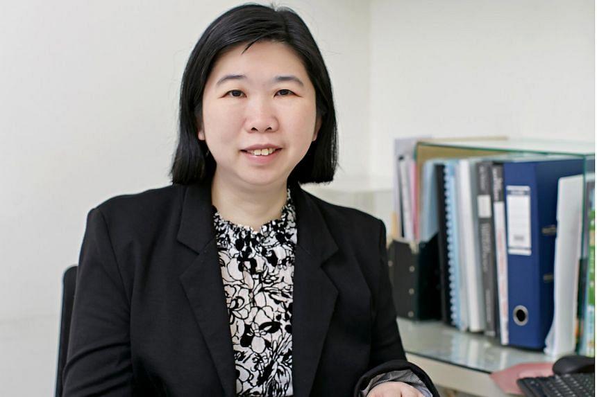 Dr Eileen Tan, dermatologist with Mount Elizabeth Novena Hospital.