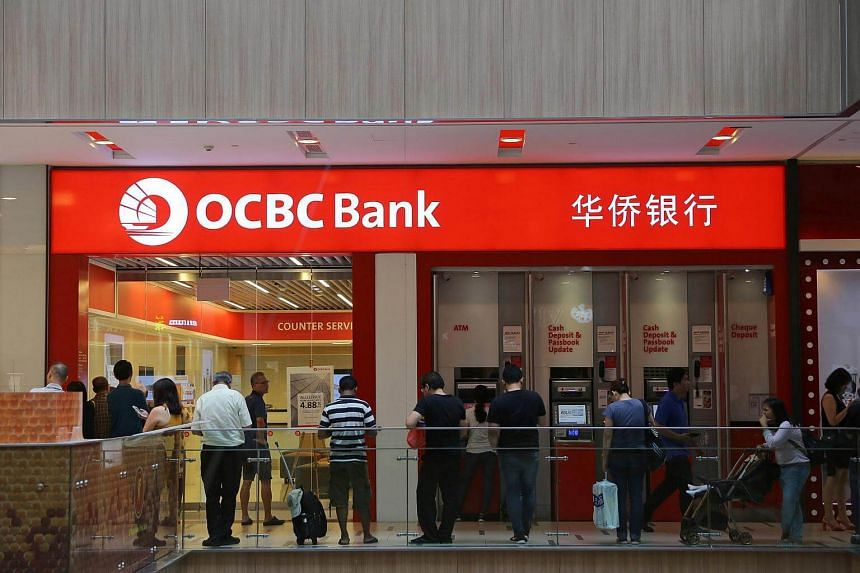 OCBC Bank's outlet at Paya Lebar Square on July 1, 2016.