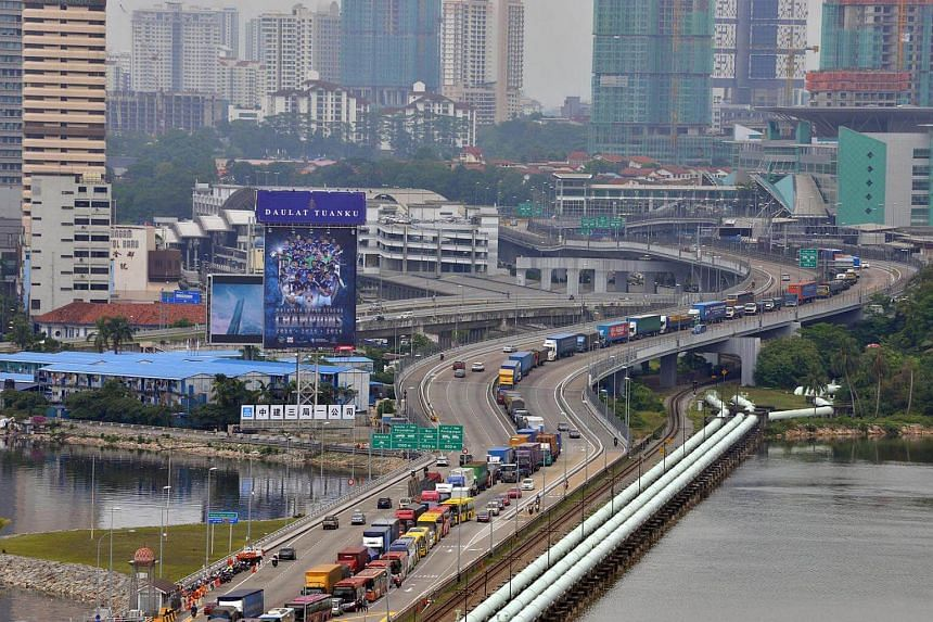 Malaysia has started collecting the RM20 (S$6.60) road charge (RC) from Singapore-registered cars.