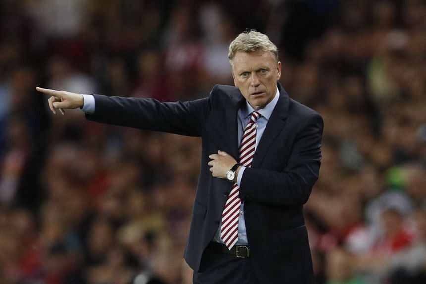 Sunderland manager David Moyes will serve a one-match touchline ban when his club travels to Bournemouth in the Premier League on Saturday.