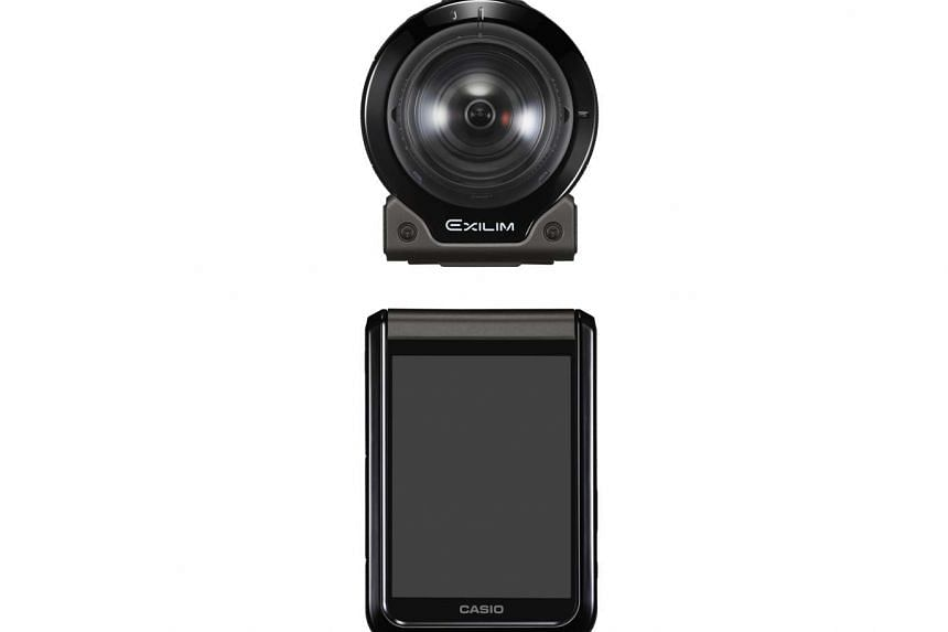 Casio's FR200 is an easy-to-handle action camera.