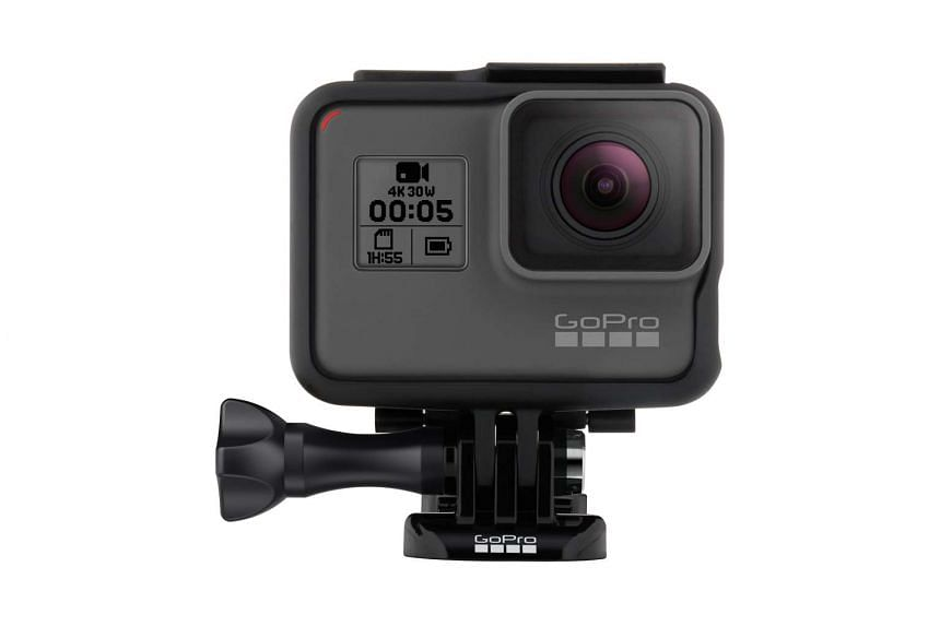 Unlike its predecessors, the GoPro Hero5 Black no longer needs a casing to be waterproof.