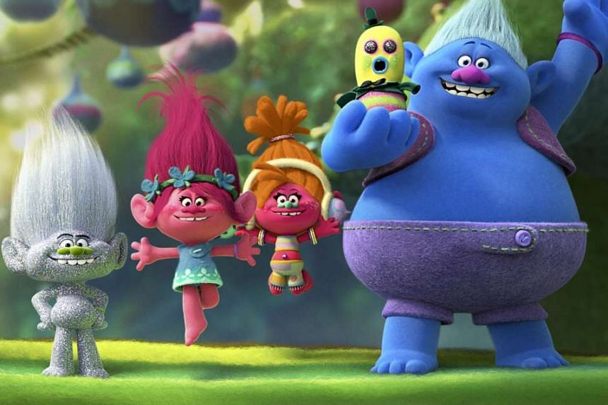 The cuddly creatures in Trolls are a watered-down version of the 1990s original.