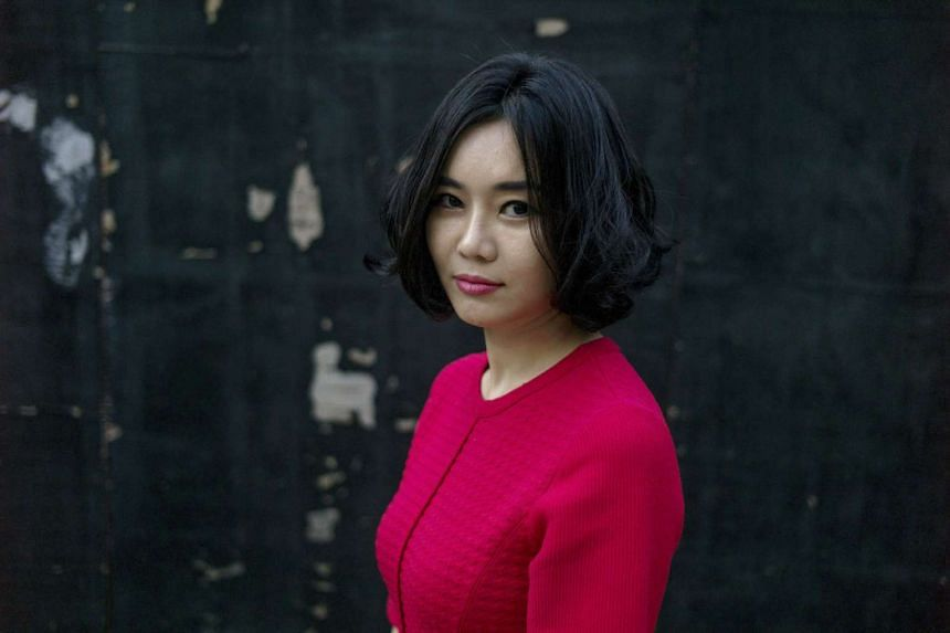 North Korean defector and activist Hyeonseo Lee, who lives in South Korea.