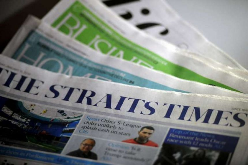 The Straits Times has retained its top spot as the most-read English title in Singapore.