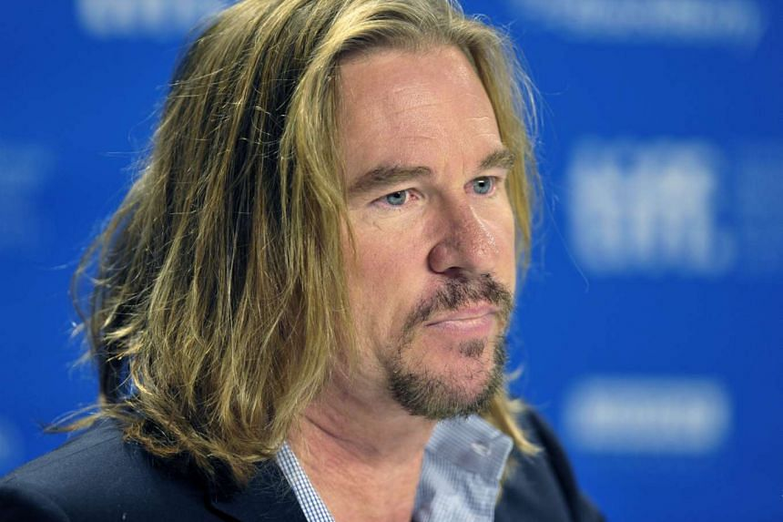 The file picture dated Sept 12, 2011 shows US actor Val Kilmer at the press conference for the movie 'Twixt' during the 36th annual Toronto International Film Festival, in Toronto, Canada.
