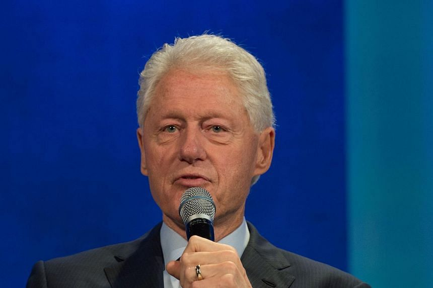 Former President and Founding Chairman of the Clinton Global Initiative Bill Clinton speaking during the Plenary Session II: Reconciliation and a Shared Society.