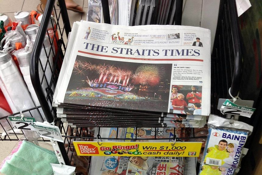 The Straits Times continues to be the most read daily newspaper in Singapore, with a readership of 1.23 million across both its print and digital platforms.