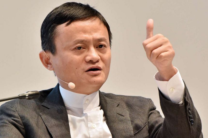 Alibaba founder Jack Ma at the St Petersburg International Economic Forum 2016 in St Petersburg, Russia, on June 17, 2016.
