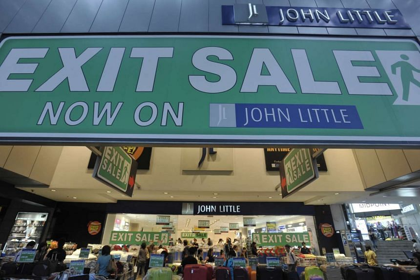 A John Little outlet, which is now defunct, in Orchard Road.