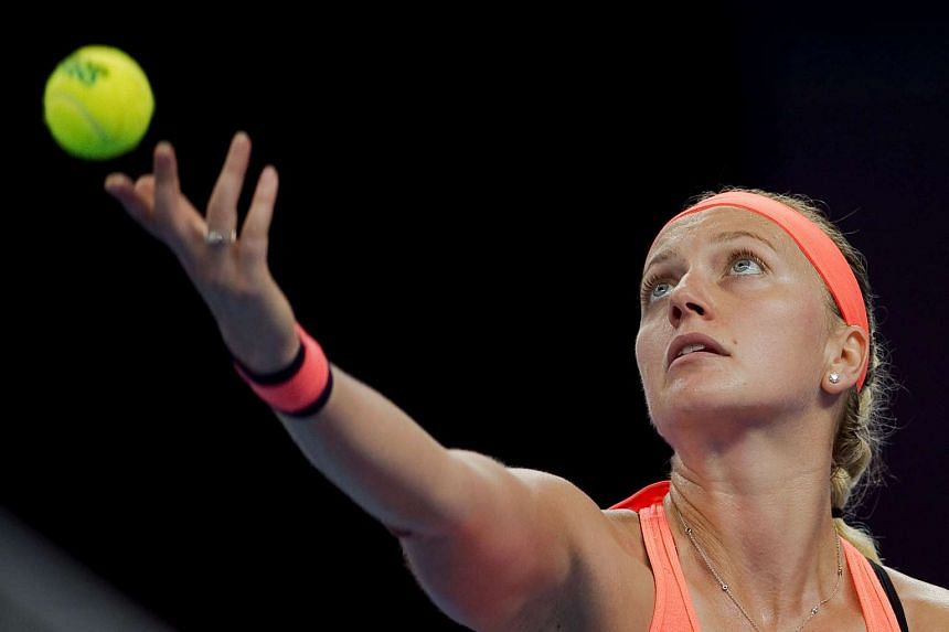 Petra Kvitova defeated Elina Svitolina in straight sets to take the title at the WTA Elite Trophy in Zhuhai.