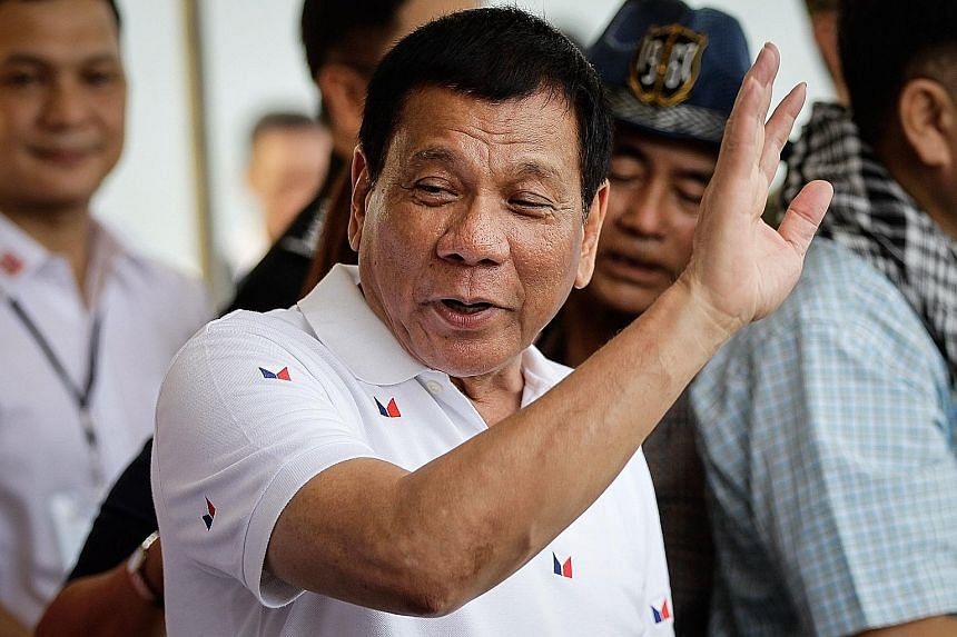 Mr Duterte's anti-US sentiments became personal when the US started criticising his deadly crackdown on criminals in Davao city when he was mayor.