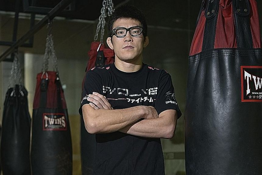 Mixed martial arts exponent Shinya Aoki will hope to overcome his fear of fighting in front of crowds when defending his One Championship lightweight title against Eduard Folayang on Friday.