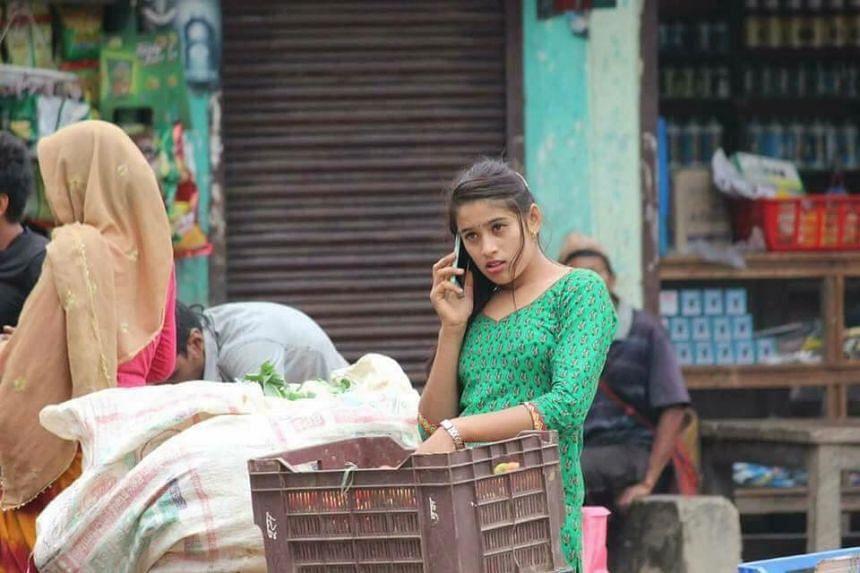 This Nepali vegetable seller is the latest online sensation.