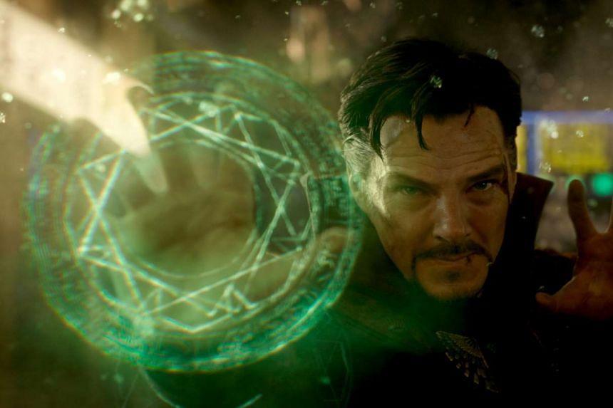 Doctor Stephen Strange (Benedict Cumberbatch).