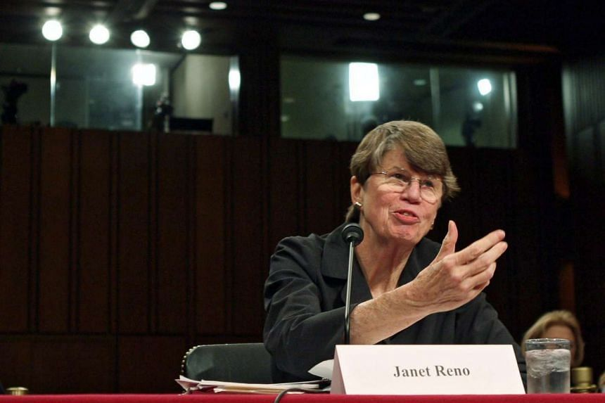 Ms Janet Reno, the first US woman attorney general, has died at aged 78.