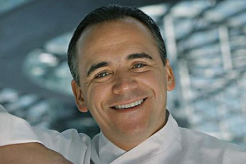 Daniel Boulud likes Le Supreme in Lyon, France, and Jean-Georges Vongerichten (above) goes to Sushi Matsue, Tokyo.