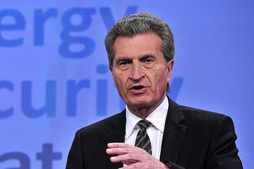 EU commissioner Guenther Oettinger was forced into a belated apology over his latest controversial comments.