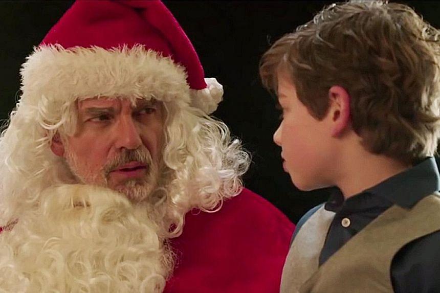 Billy Bob Thornton in Bad Santa 2.