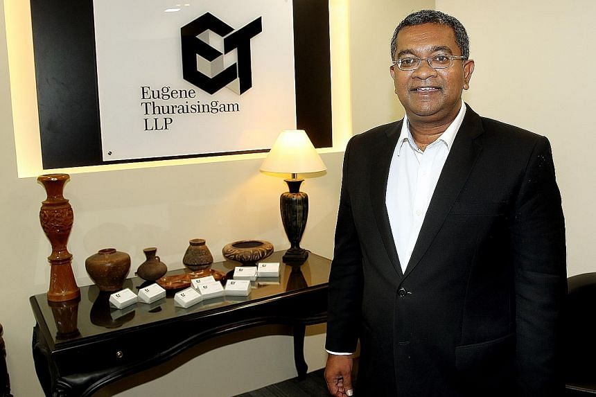 Mr Thuraisingam is one of about 200 lawyers on the Legal Assistance Scheme for Capital Offences.