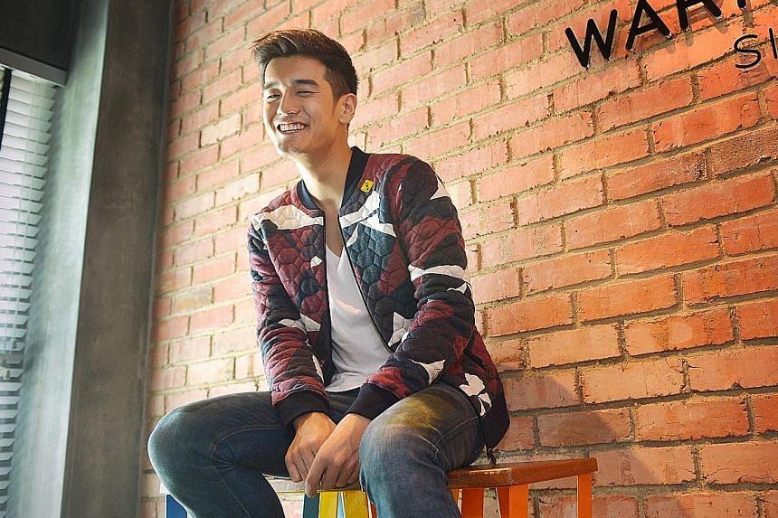 "Nathan Hartono says Sing! China has ""opened up a whole new world"" for him."