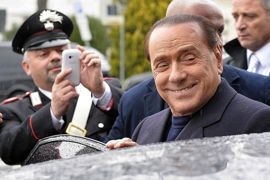A pact with the PM would pull Mr Berlusconi, who had heart surgery in June, out of the political wilderness.
