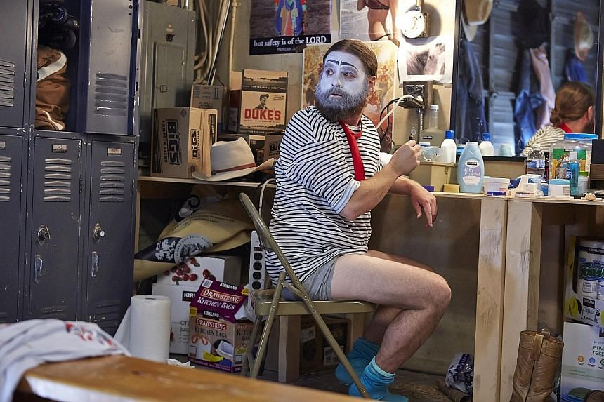 Zach Galifianakis co-creates and stars in the Emmy-winning show, Baskets[/ ], about a man struggling to find success as a professional clown.