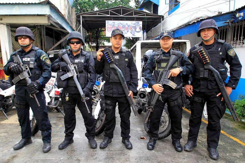 Philippines President Rodrigo Duterte cancelled an order for police rifles from the United States, on Nov 7, 2016.