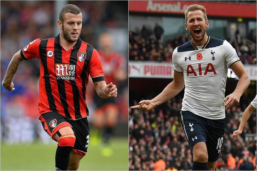 Jack Wilshere (left) and Harry Kane have been recalled to the England squad for Friday's World Cup qualifier against Scotland and a friendly against Spain.