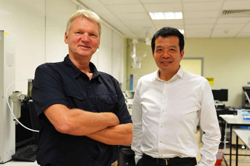 Professor Jorgen Schlundt (left) and Professor William Chen, both from NTU's School of Chemical and Biomedical Engineering, will helm NAFTEC as its director and deputy director respectively.
