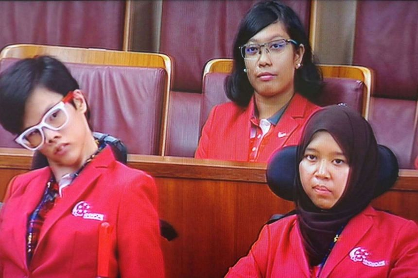 Singapore's Paralympians were honoured in Parliament on Nov 7.
