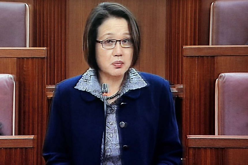 """An appointed president would """"take care of any concerns"""" of minority representation and would not be regressive, Workers' Party chairman Sylvia Lim told Parliament."""