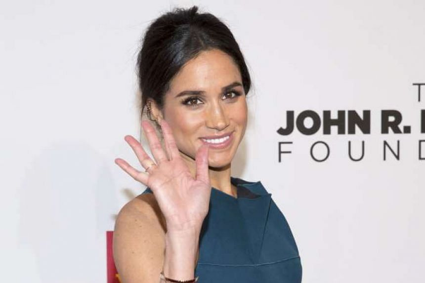 Meghan Markle attends the Elton John AIDS Foundation's 13th Annual An Enduring Vision Benefit in New York on Oct 28, 2014.