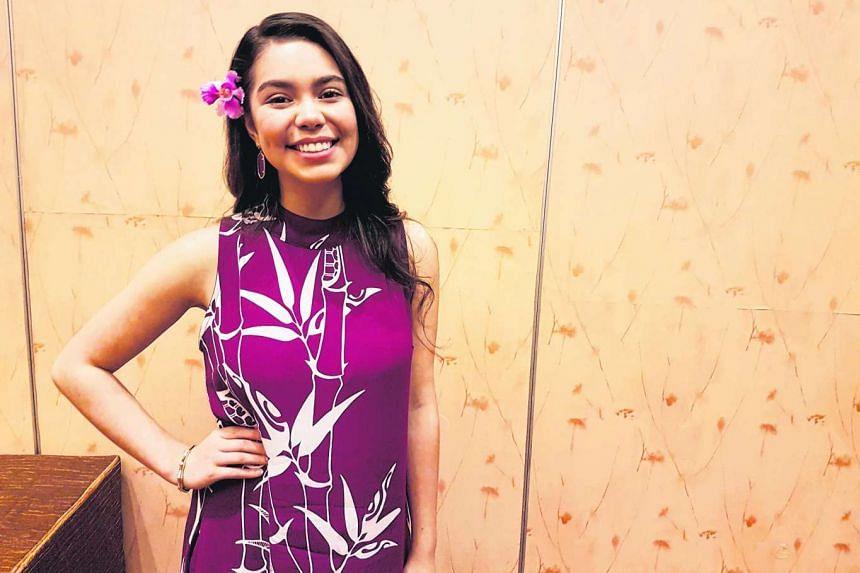 Auli'i Cravalho, who voices the new Disney princess Moana.
