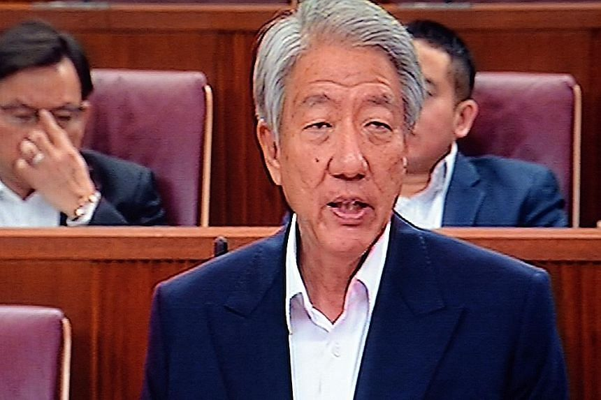 """DPM Teo said the revised framework """"seeks to achieve a more workable balance"""", adding that finding a balance was ultimately a matter of judgment."""