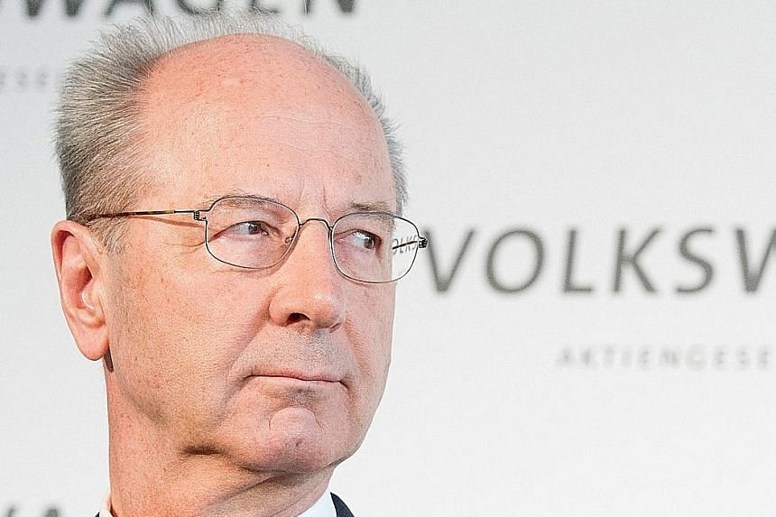 Mr Poetsch was elevated to chairman of Volkswagen's supervisory board last year.