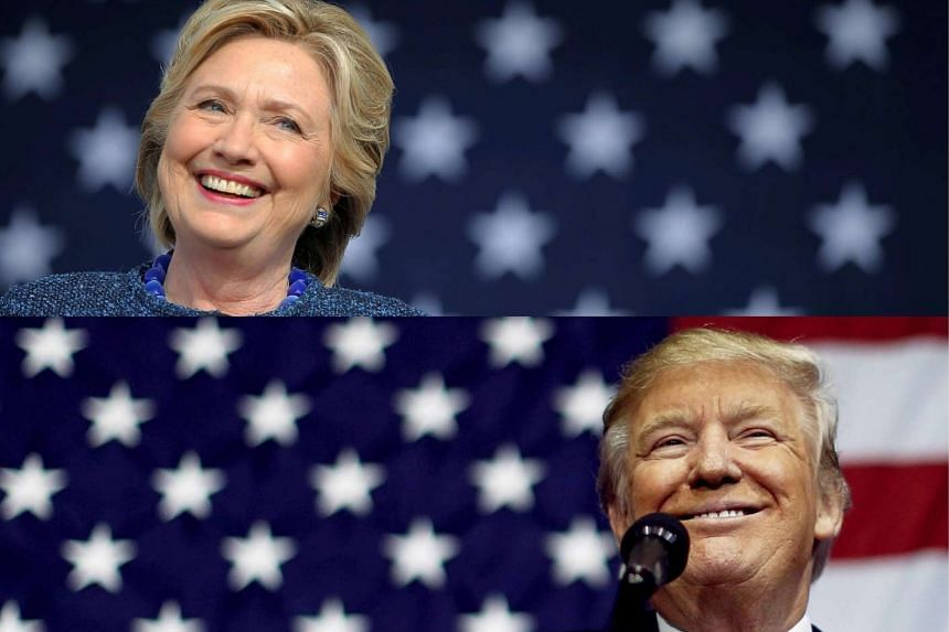 Democratic nominee Hillary Clinton leads her Republican opponent Donald Trump by just 2.2 percentage points as Americans go to the polls to elect the 45th president of the United States.