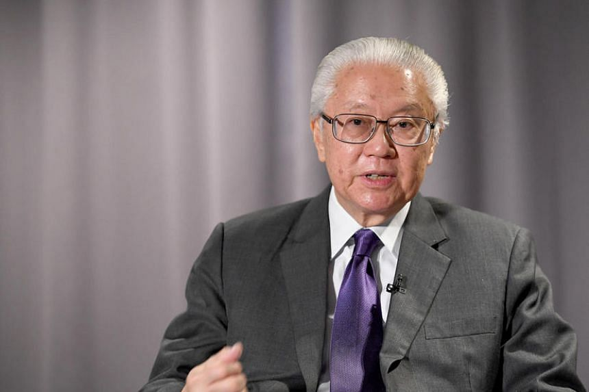 President Tony Tan will not be standing in the next presidential election in 2017.