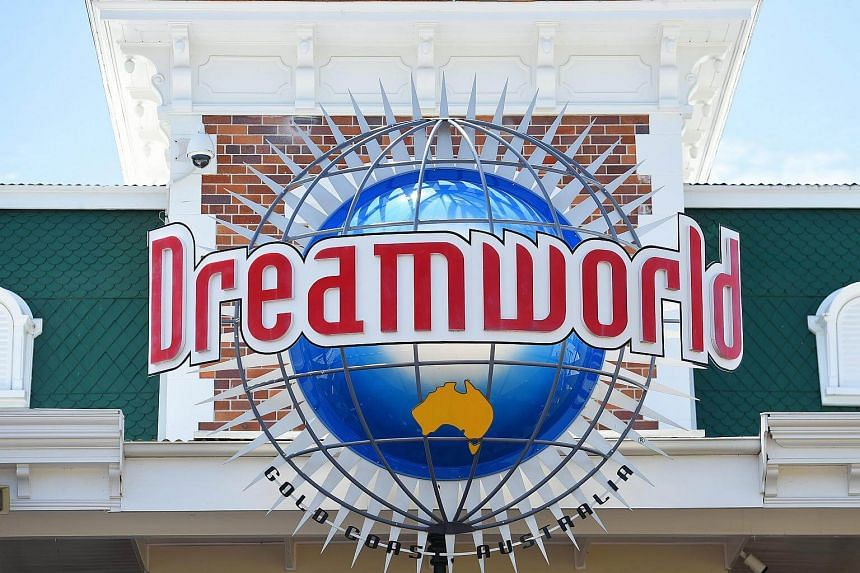 A view of the signage of the Dreamworld Theme Park, in the Gold Coast, Queensland, Australia on Oct 27, 2016.